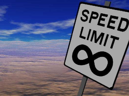 Speed Limit Set to Increase on the Internet.