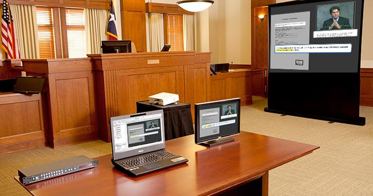 Lawyers Take Trial Presentation Tasks In house.