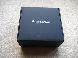 My New Blackberry is here!